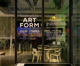 Wonderfactory's Pop-Up exhibition - AUNN Café, Shanghai.
